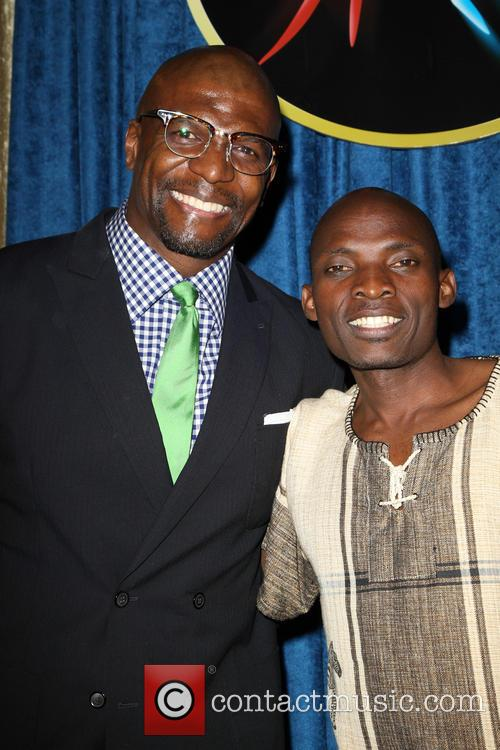Terry Crews and Tonny Okello 10