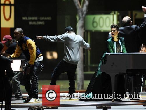 Alicia Keys, Pharrell Williams and Kendrick Lamar 9