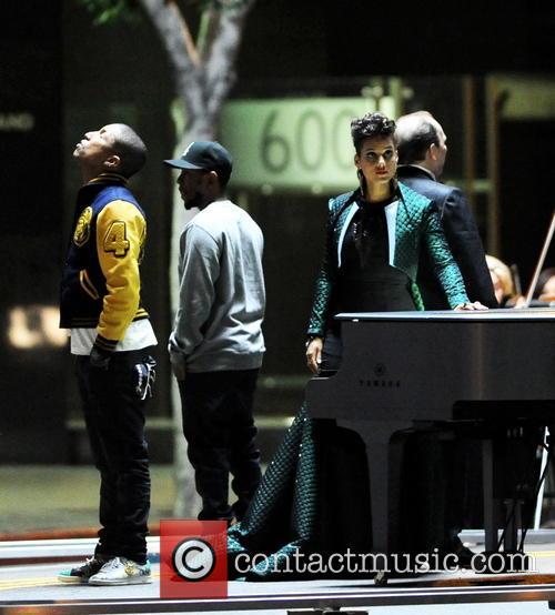 Alicia Keys, Pharrell Williams and Kendrick Lamar 13