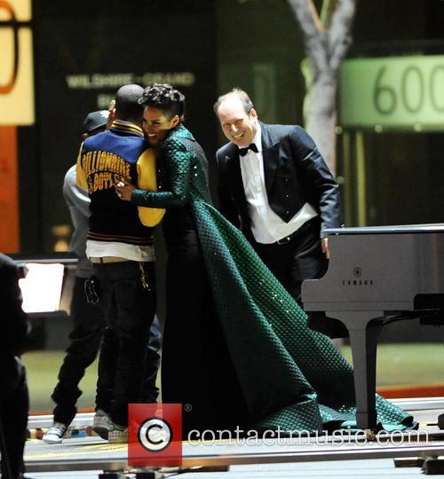 Alicia Keys, Pharrell Williams and Kendrick Lamar 14