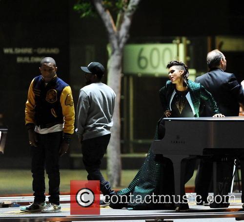 Alicia Keys, Pharrell Williams and Kendrick Lamar 17
