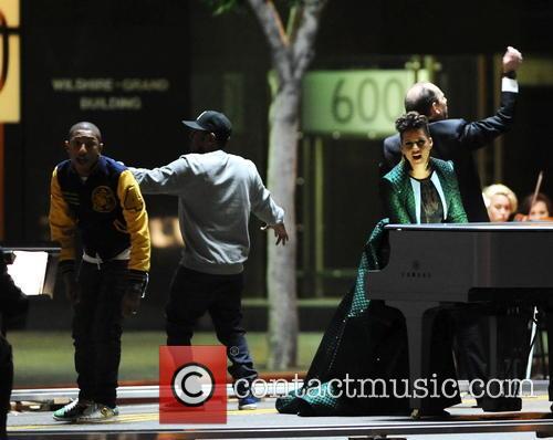 Alicia Keys, Pharrell Williams and Kendrick Lamar 19