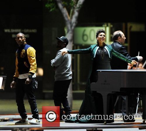 Alicia Keys, Pharrell Williams and Kendrick Lamar 20