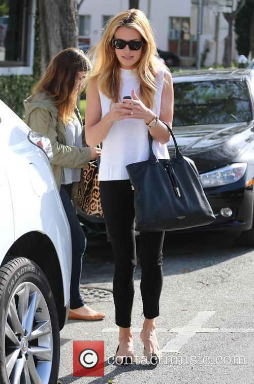Cat Deeley At Byron Williams salon