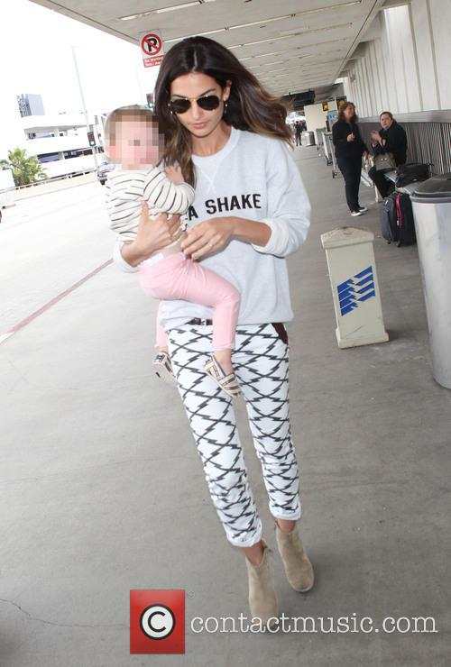 Lily Aldridge and Dixie Pearl Followill 4