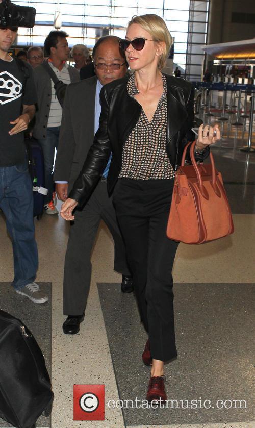 Naomi Watts At LAX