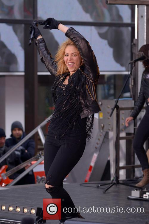 Shakira Performing LIVE at the