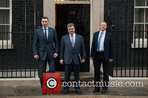 Ukrainian Politicians at Downing Street