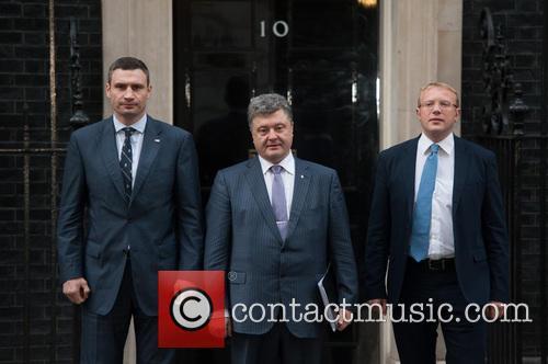 Vitali Klitschko, Petro Poroshenko and Andriy Shevchenko 4