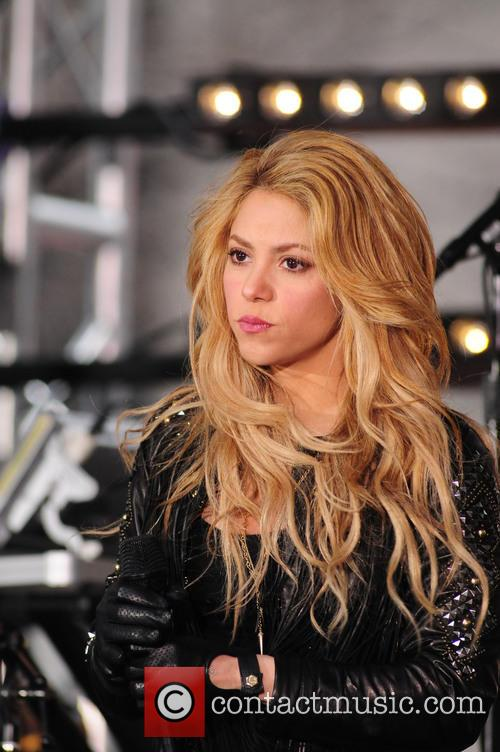 Shakira peforms live on the 'Today' show