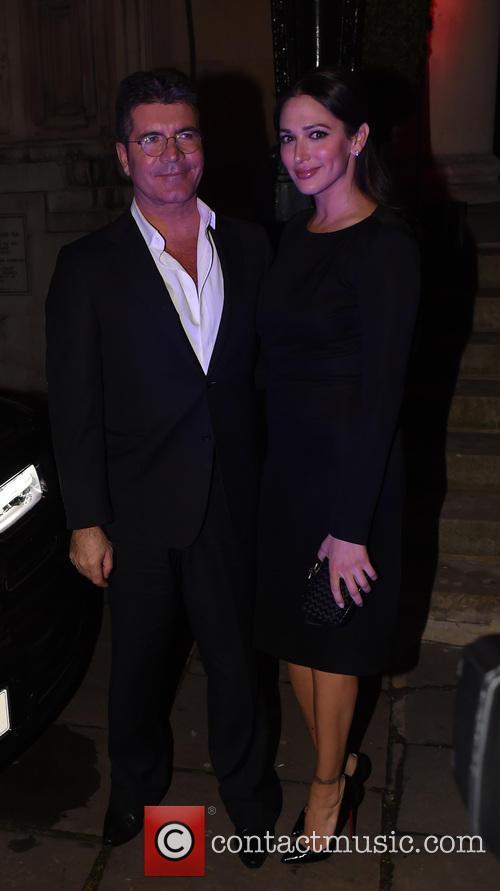 Simon Cowell and Lauren Silverman 13