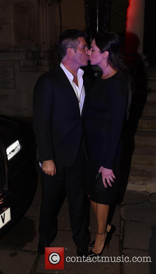 Simon Cowell and Lauren Silverman 15