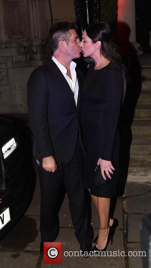 Simon Cowell and Lauren Silverman 16