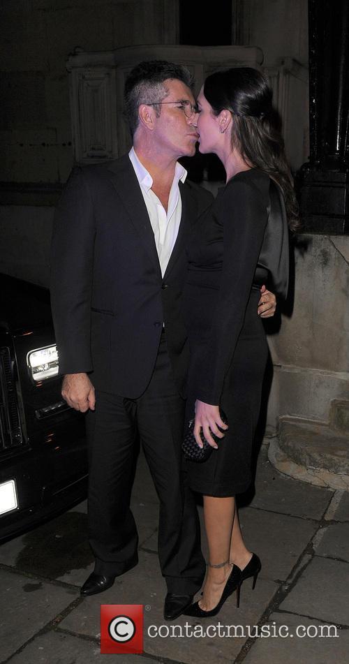 Simon Cowell and Lauren Silverman 2