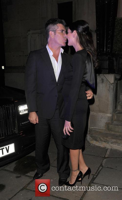 Simon Cowell and Lauren Silverman 5