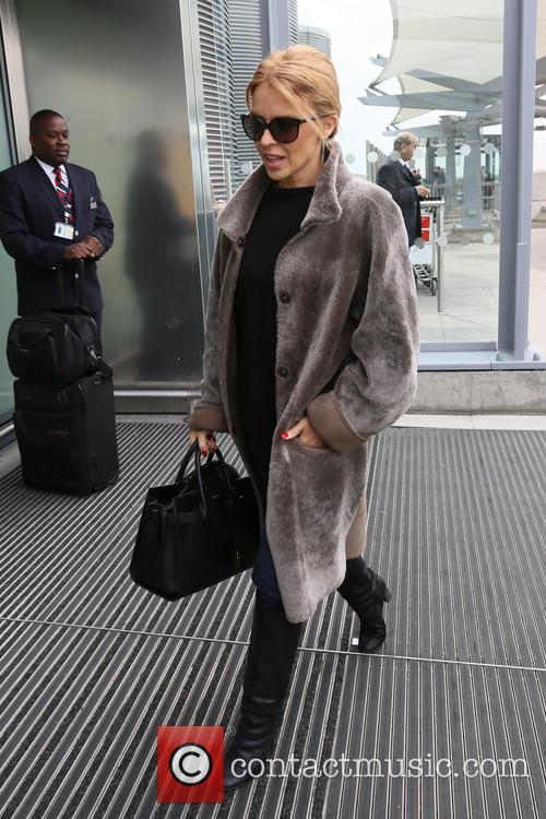 kylie minogue kylie minogue leaving heathrow 4126185