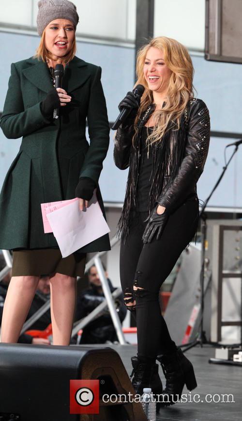 Savannah Guthrie and Shakira 1