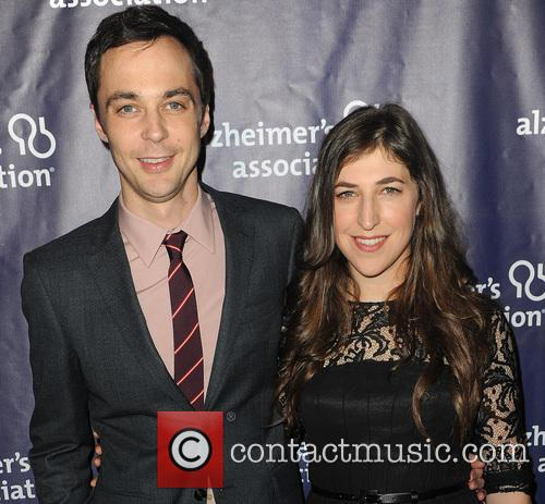 Jim Parsons and Mayim Bialik 1