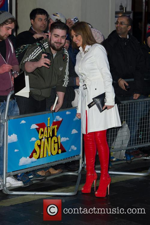 carol vorderman i cant sing opening night 4126831