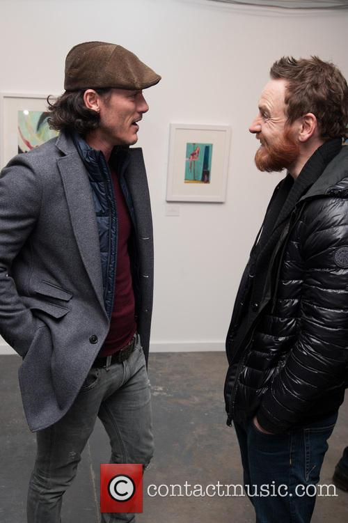 Luke Evans and Michael Fassbender 1