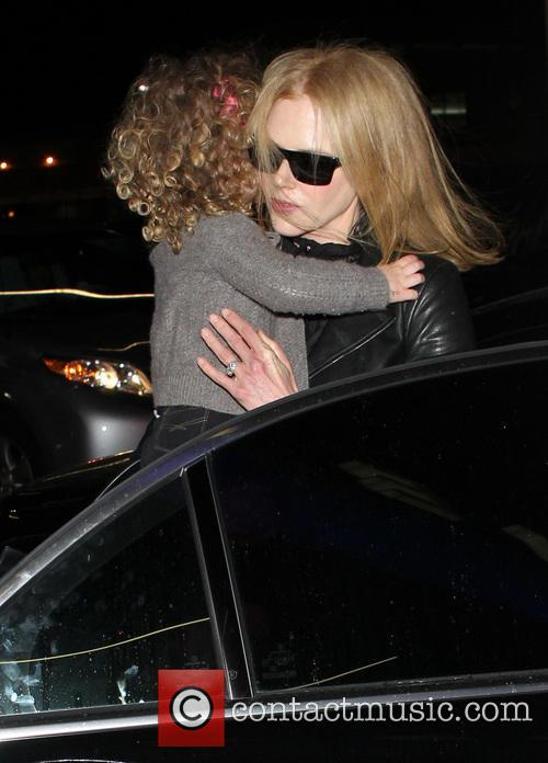 Nicole Kidman and Faith Margaret Kidman Urban 6