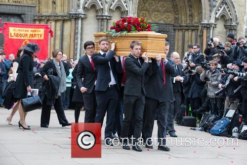 Funeral of Tony Benn MP at St. Margaret's...