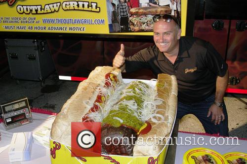 Hot dog - it's the world's largest commercial...