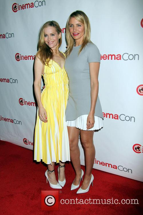 Leslie Mann and Cameron Diaz 1