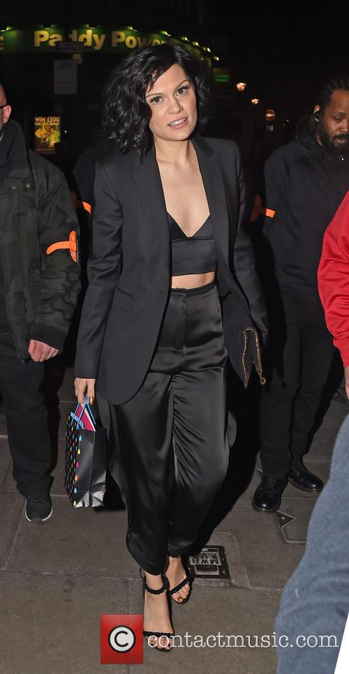 Jessie J Leaving Her 26th Birthday Party