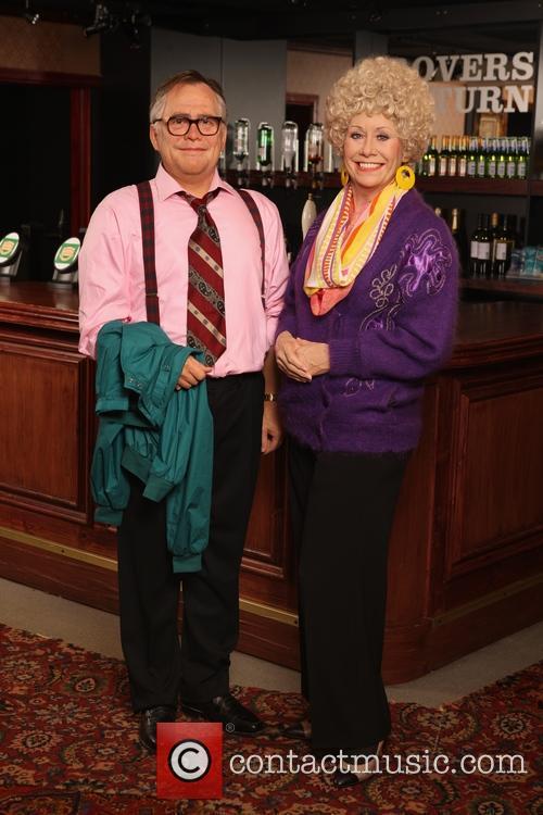 Jack and Vera Duckworth waxwork figures unveiled