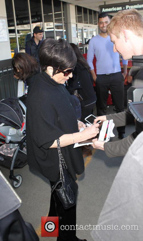 liza minnelli liza minnelli at lax 4128413