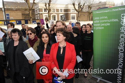 Demonstration outside Pentonville Prison