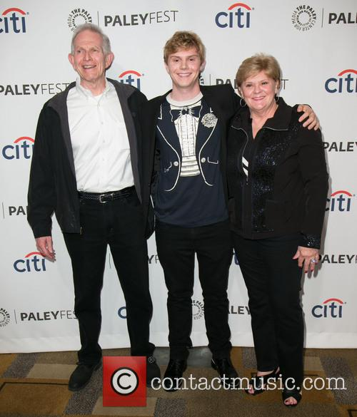 Evan Peters and Family 6