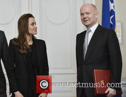 Angelina Jolie and William Hague 3