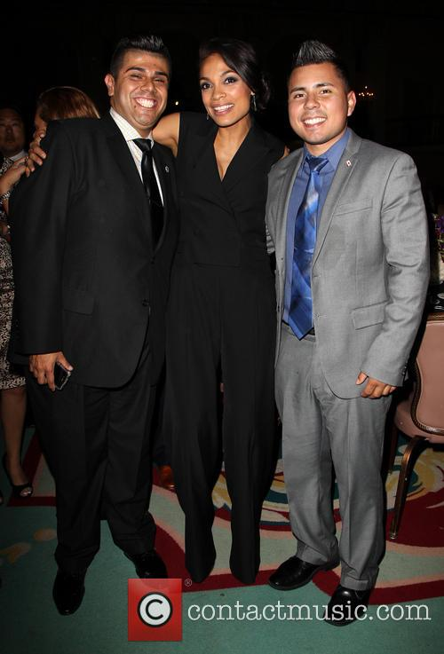 Mark Gonzalez, Rosario Dawson and Guest 3