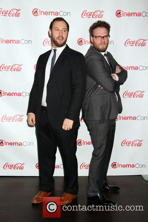 evan goldberg seth rogen cinemacon big screen achievement 4128958