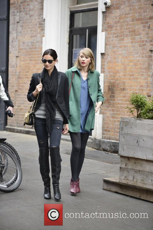 Lily Aldridge and Taylor Swift 11