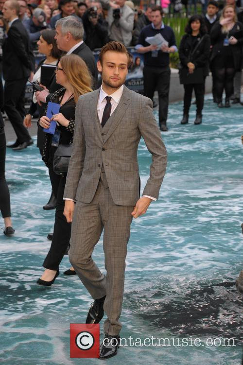 Douglas Booth, Odeon cinema, Leicester Square, Odeon Leicester Square