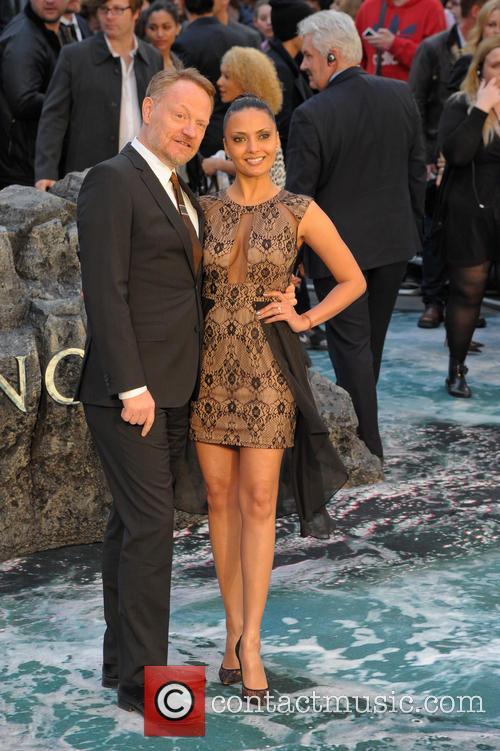 Jared Harris and Allegra Riggio 2
