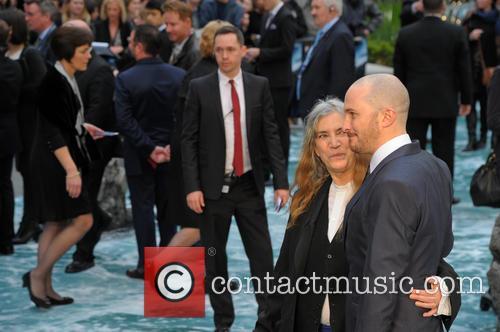 Patti Smith and Darren Aronofsky 2