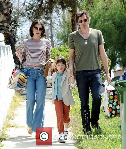Milla Jovovich, Paul W. S. Anderson and Ever Anderson