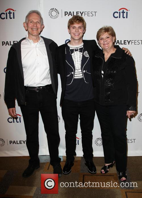 Phil Peters, Evan Peters and Julie Peters 1