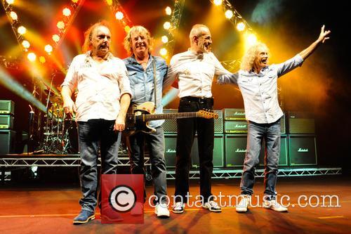 Status Quo, Francis Rossi, Rick Parfitt, Alan Lancaster and John Coghlan