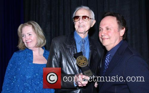 Nancy Haecker, Haskell Wexler and Billy Crystal 1