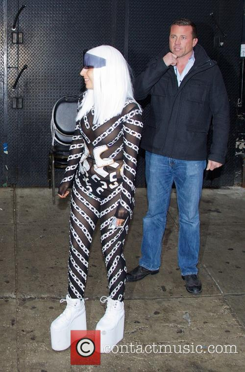 lady gaga lady gaga seen leaving roseland 4129371
