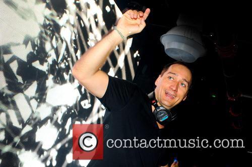 Paul Van Dyk performing at Club Space