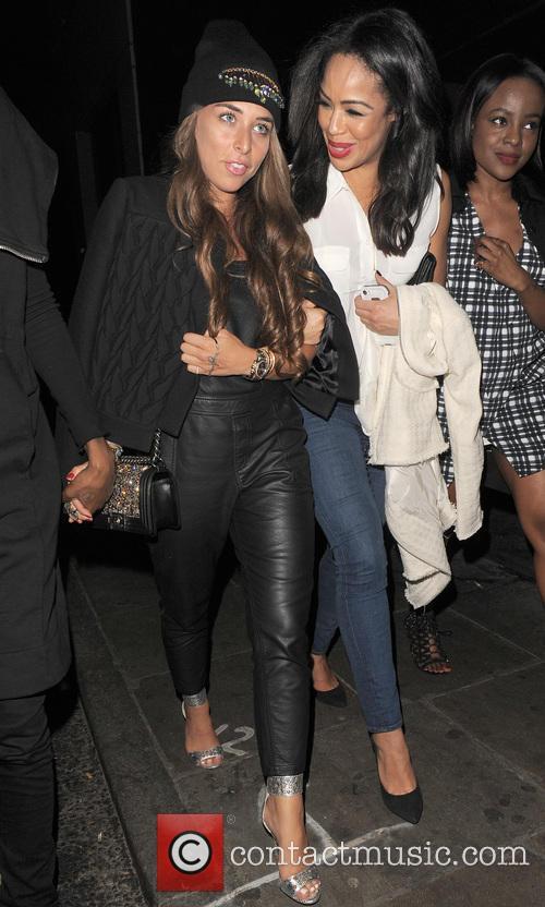 Rita Ora and Chloe Green enjoy an evening...
