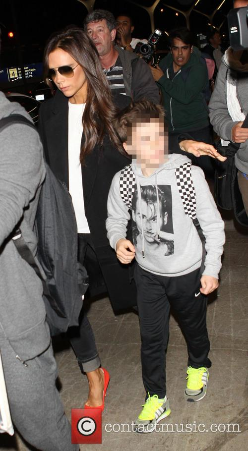 Victoria Beckham and Cruz Beckham 5