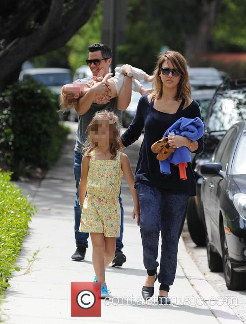 Jessica Alba, Cash Warren, Honor-Marie Warren and Haven Warren 34