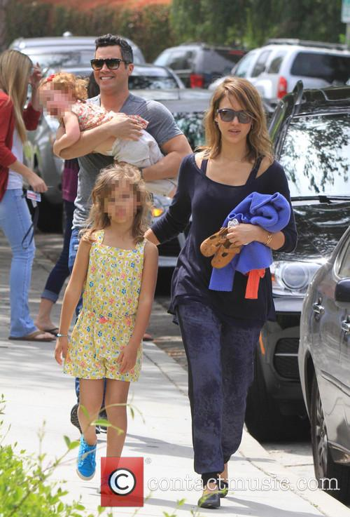 Jessica Alba, Cash Warren, Honor-Marie Warren and Haven Warren 36